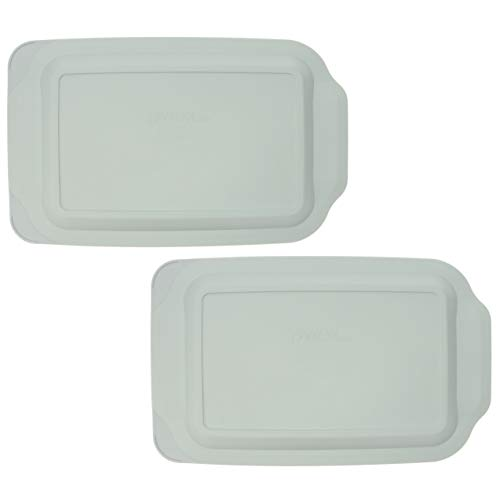 Pyrex 233-PC Sage Green Replacement Lids - 2 Pack