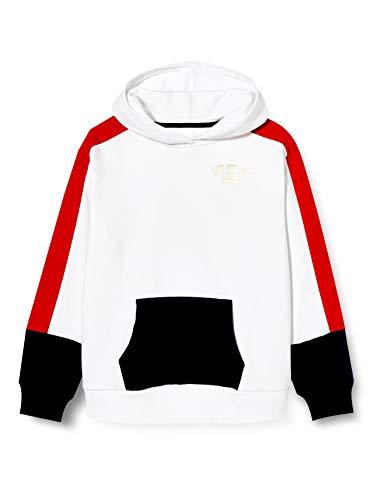 Levi's Kids Lvg Color Block Hoodie Pulls Fille Blanc 12 ans