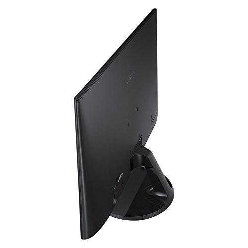 Samsung S24F350FHU 61 cm (24 Zoll) Full-HD Monitor (16:9, 4ms Reaktionszeit, VGA, HDMI), schwarz-glänzend