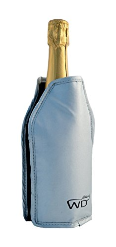 WD Lifestyle Glacette Morbida, Gel, Argento, 15x2x17 cm