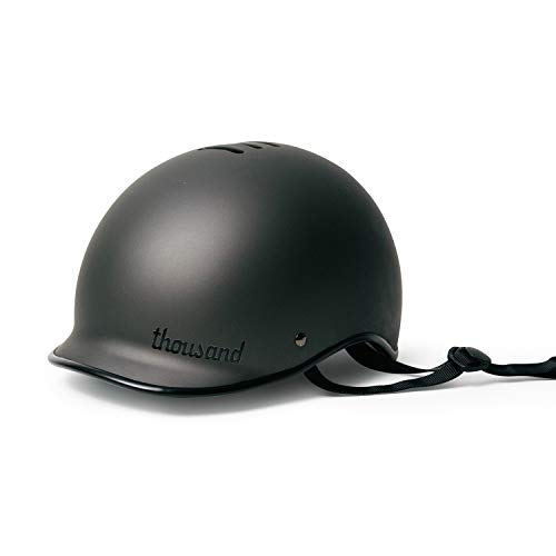 Thousand Adult Bike Helmet, Stealth Black, Medium