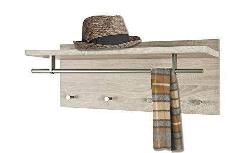 HAKU Furniture - Perchero de pared (30 x 75 x 26 cm)