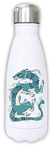 Iprints Tribal Chinese Ancient Dragon Thermal Water Bottle