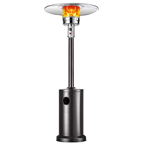 ZYF Propane Patio Heater Gas Propane Heater Outdoor Table Top Heater W/Adjustable Thermostat,Suitable for Yard,Commercial Restaurant,Gazebo (Color : Black)