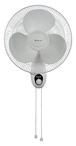 Bajaj Esteem 400 mm Double String Wall Fan (White)