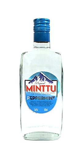 Minttu Peppermint Pfefferminz Likör 50% 0,5l Flasche