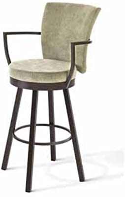 Amazon Com Boraam Florence Bar Height Swivel Stool 29