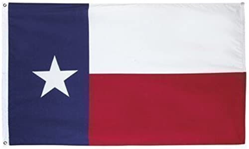 Valley Forge State Flag 3' X 5' Cotton Texas by Unknown