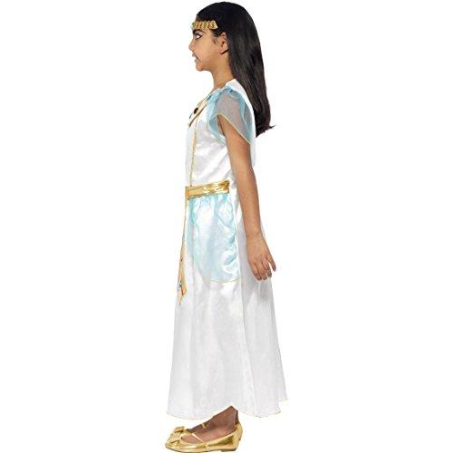 Disfraz infantil de diosa egipcia, talla S, 4-6 aos, 110-128 cm, diseo de trboles de la reina egipcia, vestido de Cleopatra, disfraz para nia, disfraz de faran, disfraz de faraonina