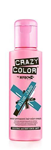 Crazy Color Permanent Hair Color Creme Nr. 67, Blau Jade 100ml