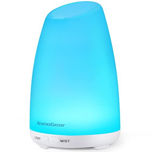 InnoGear Essential Oil Diffuser, 150ml Ultrasonic Humidifier Adjustable...