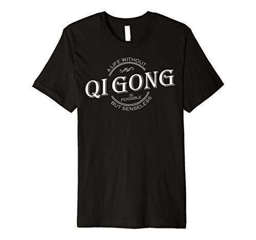 Ein Leben ohne Qi Gong–Weiß T-Shirt