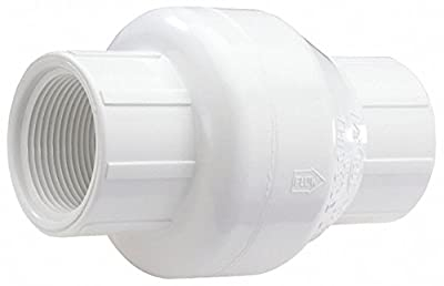 Swing Check Valve, PVC, 1 In., FNPT by NDS