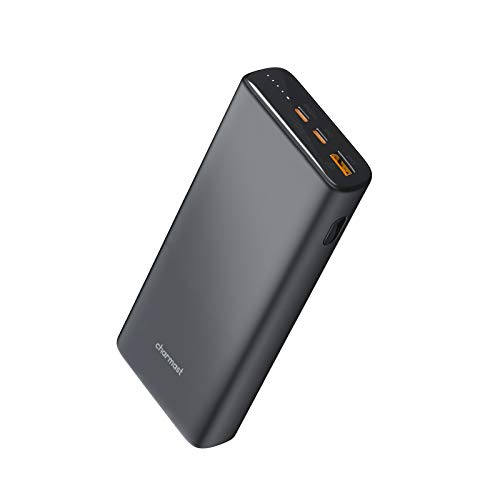 Charmast 23800mAh Power Bank PD 65W Caricatore Portatile USB C con Carica Rapida e Quick Charge 3.0 Batteria Portatile per Laptop MacBook PRO,dell XPS,Lenovo,iPhone,iPad,Huawei,Samsung