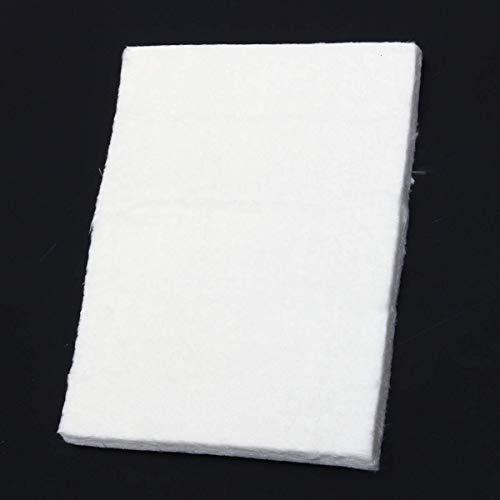 Terrarum 3/6/10 mm Aerogel Isolierung Hydrophobe Matte Fuß Niedrig bis Hohe Temperatur 20 x 15 cm Wasserrohr Isolierung Matte – 10 mm, 3 mm