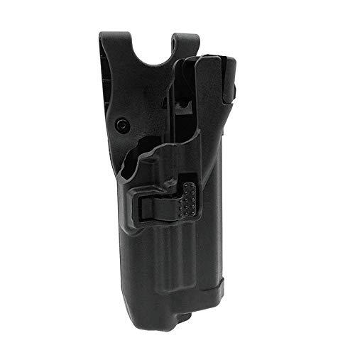 JINJULI Tactical Right Hand Level 3 Light Bearing Duty Waist Gun Holster for Glock 17 19 22 23 31