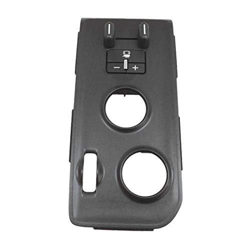 FANGPING Fang-Ping Trailer Control de Freno Interruptor Negro Carbono Ajuste para Chevrolet Silverado 2500HD 3500HD 2015-2018 84109447 23476237