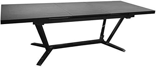 Proloisirs Table Jardin en Aluminium avec allonge Vita 180-240 cm
