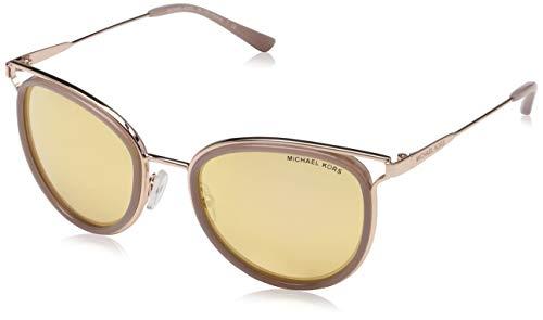 Michael Kors Damen Havana 12017J 52 Sonnenbrille, Gold (Rose Gold Tone/Milky Pink/Liquidrosegold)