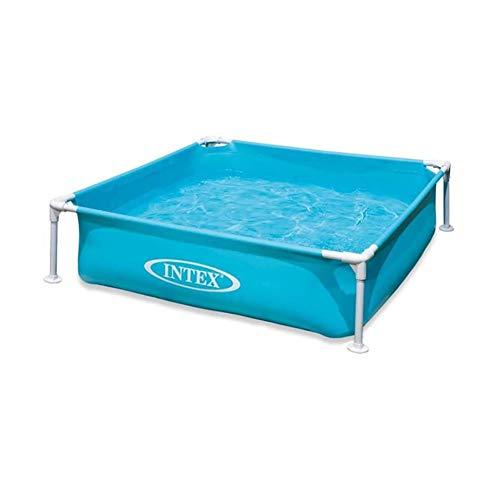 XIAOFEI Planschbecken Pool für Kinder Hochwertiges Outdoor Indoor PVC Großes Schwimmbecken, Stahl Pro Rahmen Oberirdisches Schwimmrundes Schwimmbecken