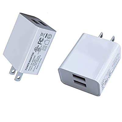 Wall Charger, USB Adapter, SUPWISER 2 Pack 10W ...