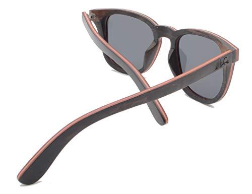 allife Jesper - Gafas de sol para hombre y mujer (polarizadas, protección UV400)