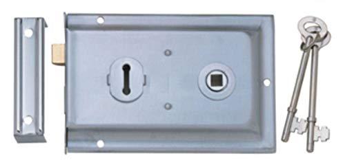 Picaporte para puerta n/íquel satinado, cromo pulido Excel Architectural 3670-PRV Argo