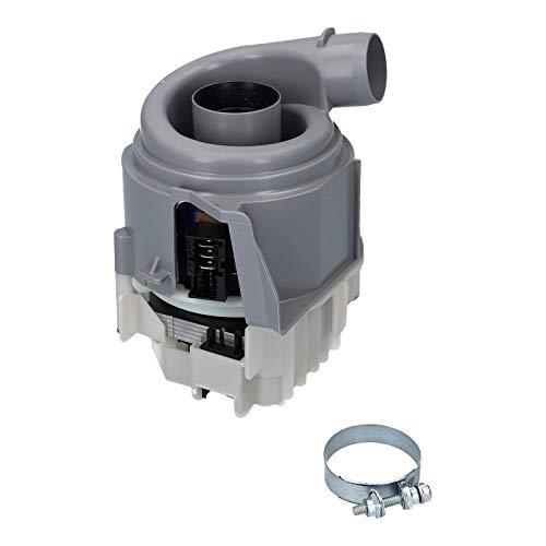 DL-pro Heizpumpe passend für Bosch Siemens Neff Constructa Pumpe Heizung 12014980 1BS3610-6AA Geschirrspüler