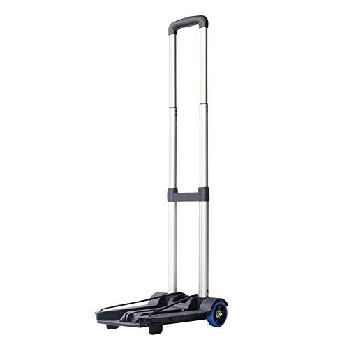 WUFENG Einkaufstrolley Mini Multifunktion Faltbar Haushalt Tragbar Lebensmittel Einkaufen, 2 Stile (Farbe : A, größe : 25x32x92cm)