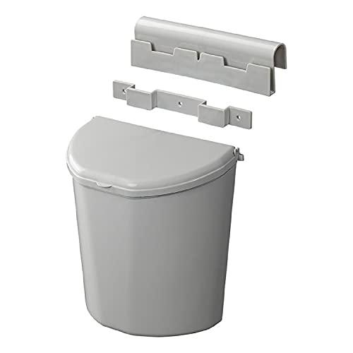 Cubo de basura de 10 litros con tapa para caravana, autocaravana, camping