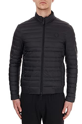 Armani Exchange 8nzb51 Veste de Sport, Noir (Black/HTR Greybc09 0217), Small Homme