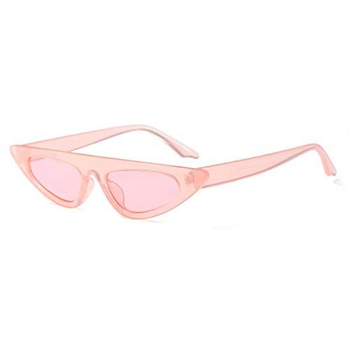 Sunglasses Gafas de Sol de Moda Gafas De Sol Vintage para Mujer, Gafas De Sol, Retro, Pequeñas, Rojas, para Mujer, Gafas