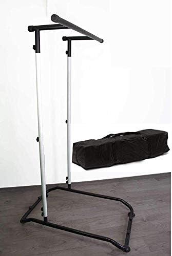 Pull Up Bar, Barre de Traction Portable Multifonction, Barre à dips, Démontable, Home Fitness Station, Calisthenics, Street Workout + Sac