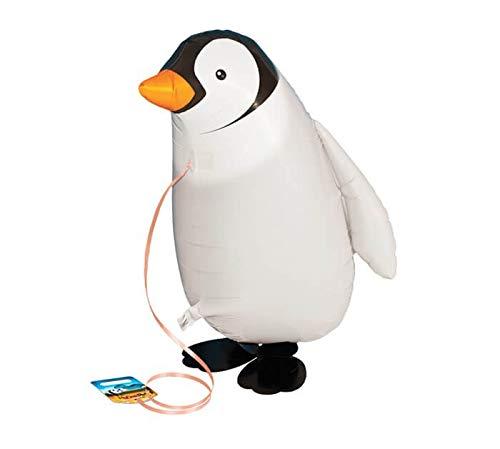 Globo Pinguino 50cm - Mascota Caminadora - Walking Pet