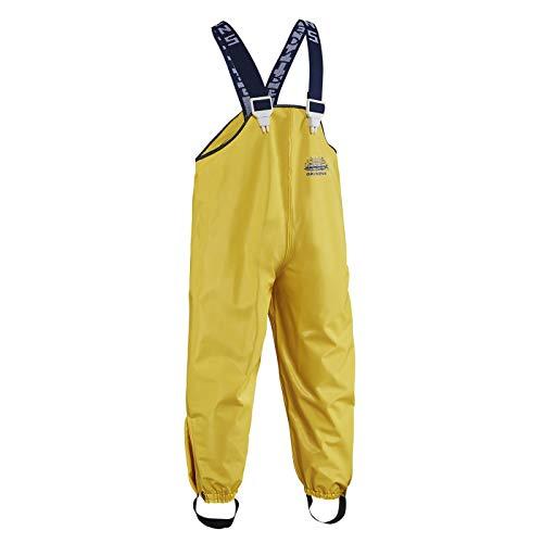 Grundéns Children's Zenith 294 Fishing Bib Pants, Yellow - 6 Years