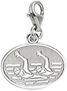 Rembrandt Charms Synchronized Swimming Charm with Lobster Clasp