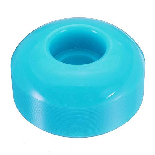 NO LOGO X-Baofu, 4 Piezas de Ruedas de Skate Longboard Skateboard for terrenos difíciles Asfalto Medio Tubo, etc. (Color : Blue)