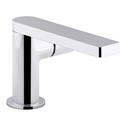 KOHLER Composed K-73050-7-CP Single Handle Single Hole Bathroom Sink Faucet with Metal Drain Assembly in Polished Chrome