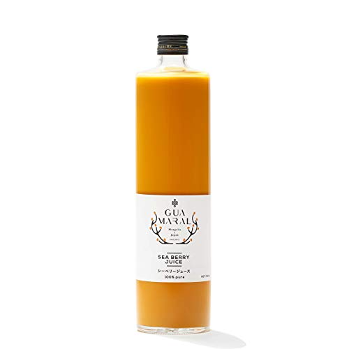 "GUAMARAL""グアマラル"" モンゴル産シーベリー(サジー)ジュース 100% 720mlサイズ無添加ジュース"