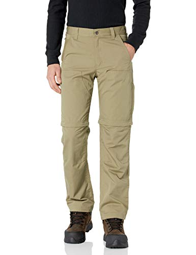 Carhartt Men's Force Extremes Convertible Pant, Burnt Olive, 44W X 30L