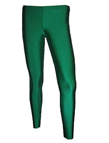 Neon UV Lycra-Leggings Gr. S/M, dunkelgrün