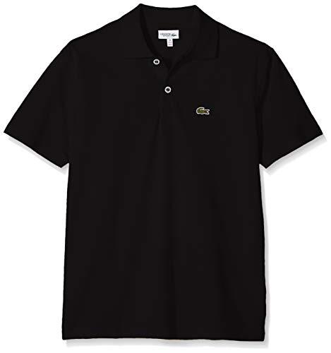 Lacoste Jungen L1830 Poloshirt, Schwarz (Noir 031), 16 Jahre (Herstellergröße: 16A)