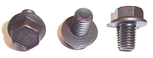 TRANSMISSION DEPOT INC. Torque Converter Bolts GM (3) for GM transmissions. Fits TH250 TH350 TH400 700R4 and Other transmissions