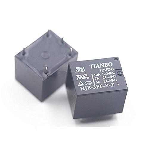 Relays 1pcs HJR-3FF-S-Z 12VDC Genuine New TIANBO DIP-5 Relay