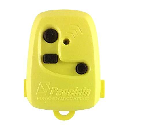 Controle Remoto Digital TX 3C Peccinin 433.92Mhz AMARELO