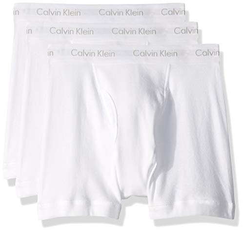 3-Pack Calvin Klein Men's Cotton Boxer Briefs  $16 at Amazon