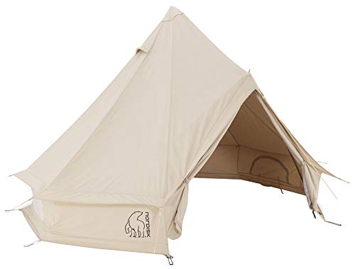 Nordisk Asgard 12.6 m² Zelt Technical Cotton Natural 2021 Camping-Zelt