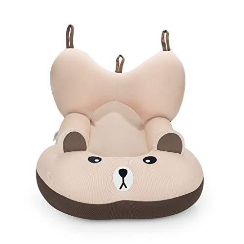 Almofada de Banho Urso Zeca - Tamanho P, Baby Pil, Marrom