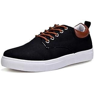Qianliuk Men Canvas Shoes Breathable Fashion Student Youth Shoes:Lidl-pl