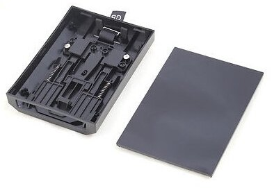 Elloapic Hard Drive Enclosure Replacement Case Shell for Xbox 360 Slim Microsoft HDD (Case Only!)